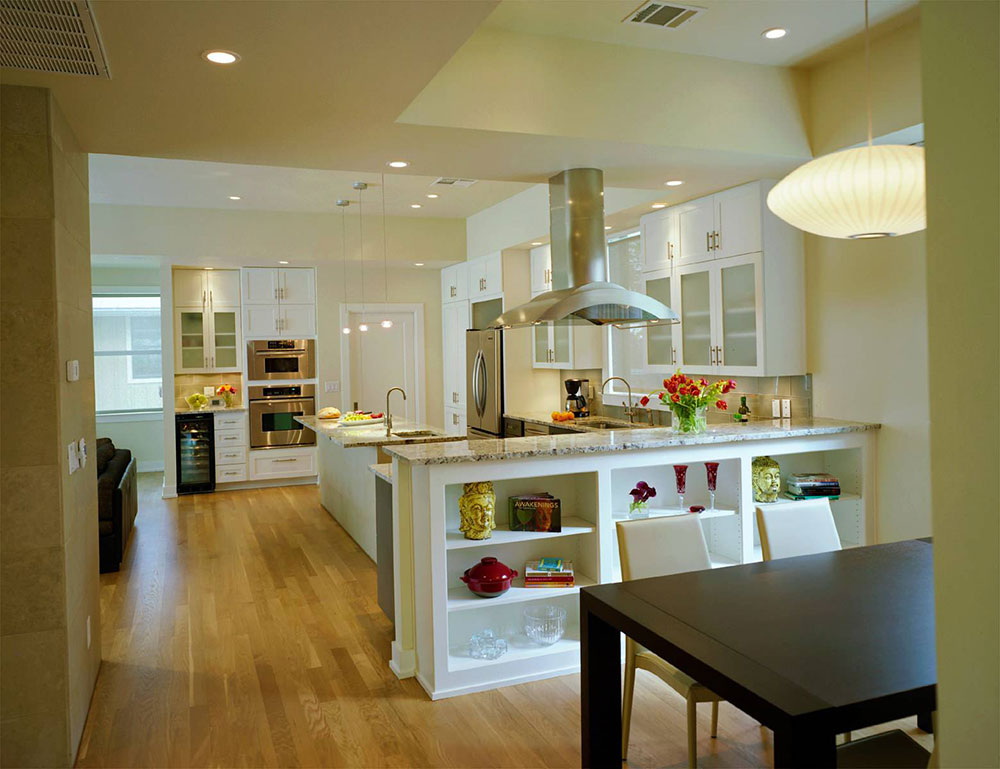 open kitchen and living room design ideas3 - Open Kitchen Design Ideas
