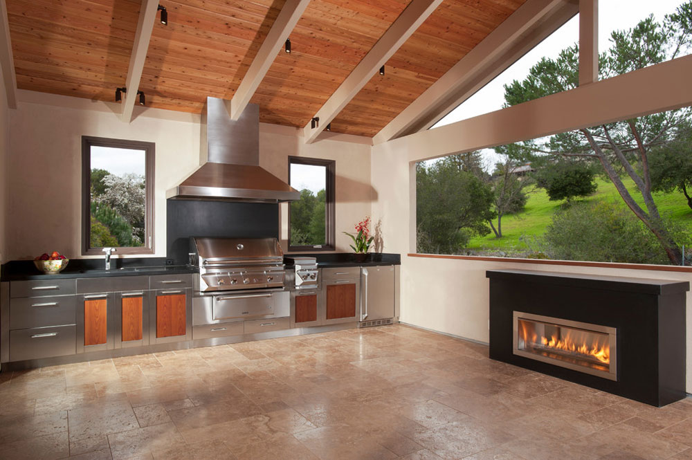 Indoor Outdoor Kitchen Designs Indoor Outdoor Kitchen  Room Image And Wallper 2017