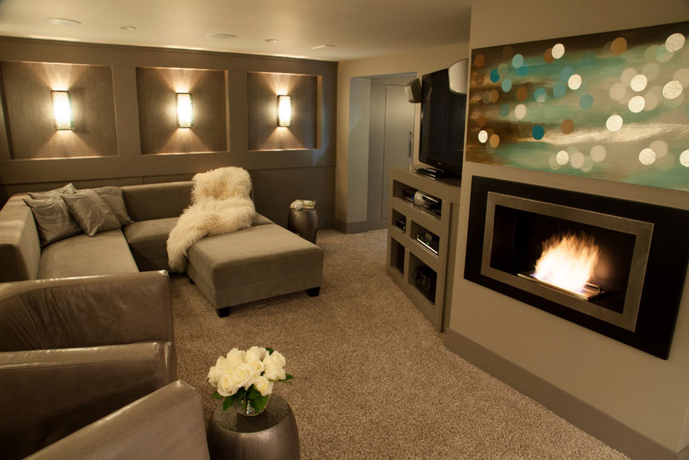 Charmant Basement Makeover Ideas For A Cozy Home1 Basement Makeover Ideas