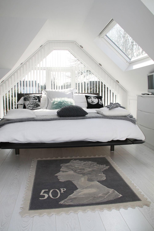 Breathtaking master bedroom design with beautiful - Breathtakeable Attic Master Bedroom Ideas13 Breathtaking Attic Master Bedroom Ideas