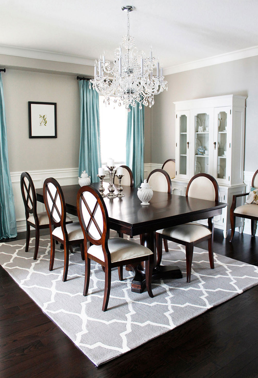 Dining Room Crystal Chandeliers Select The Perfect Dining Room
