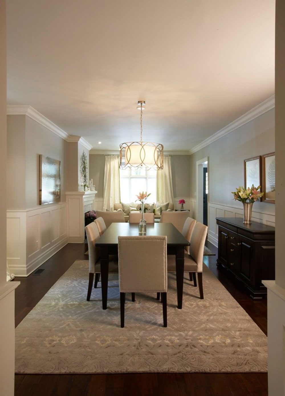 how to choose a chandelier for the dining room5
