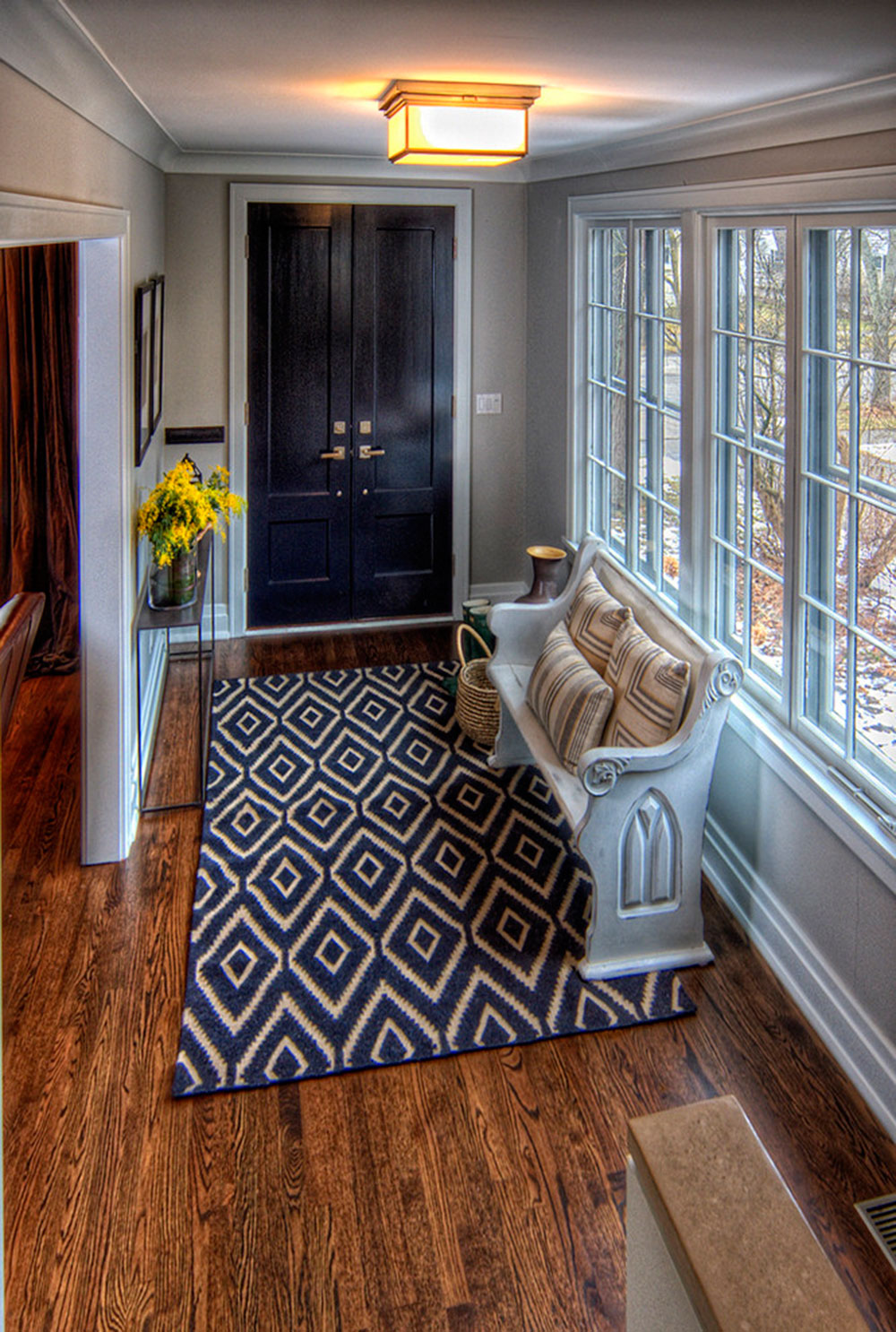 How To Decorate With Antique Rugs