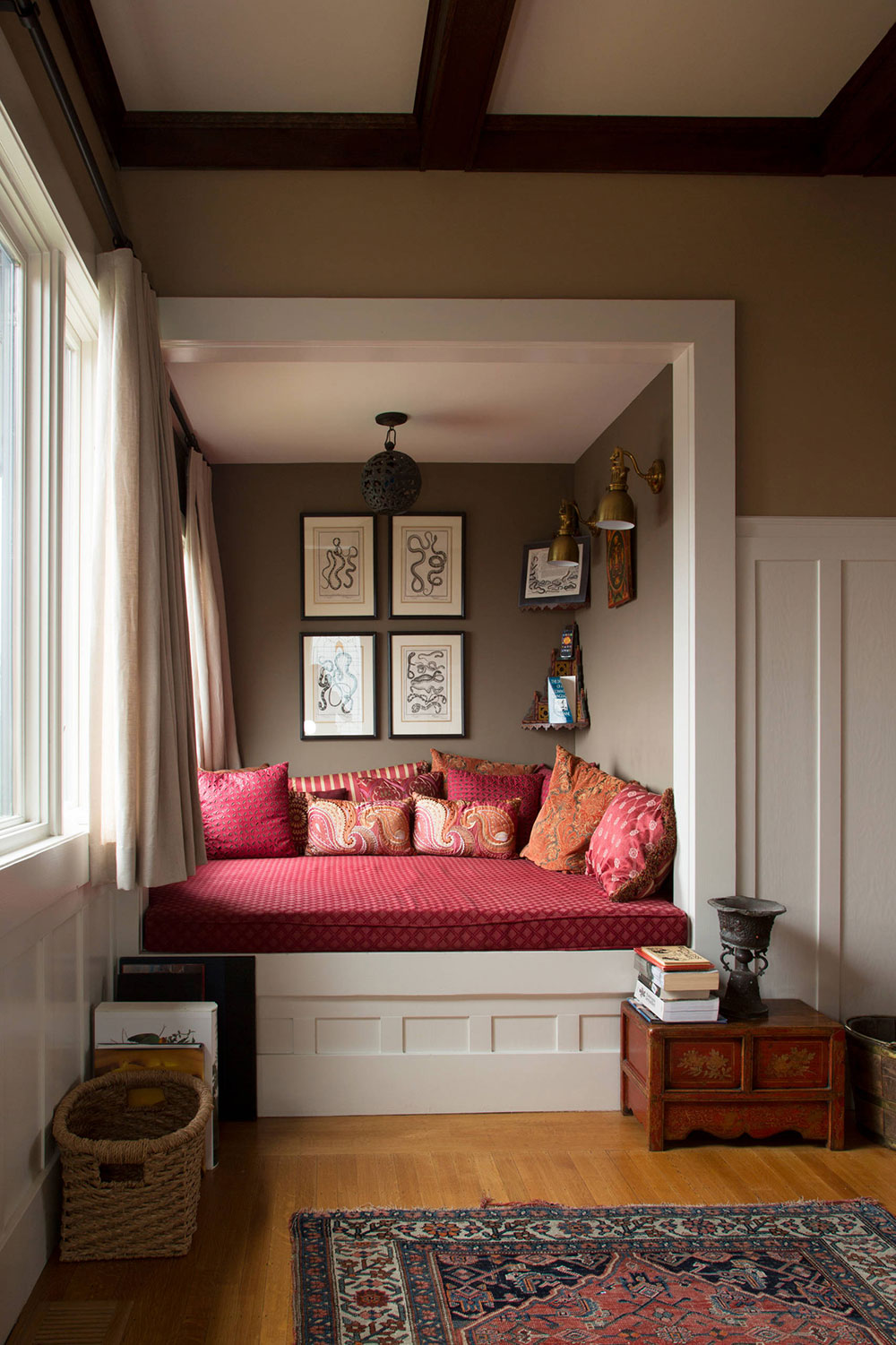 How-To-Design-A-Reading-Nook-For-Poetic- & A Collection Of Nook Window Seat Design Ideas