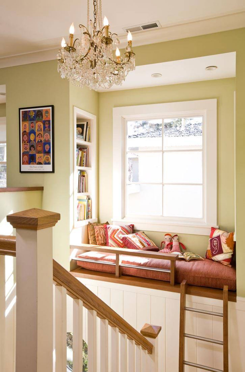 Window Seat Living Room A Collection Of Nook Window Seat Design Ideas