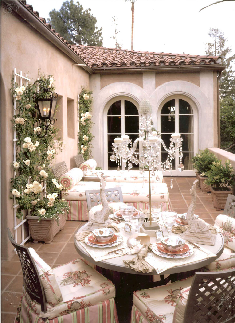 ideas for creating an outdoor living space