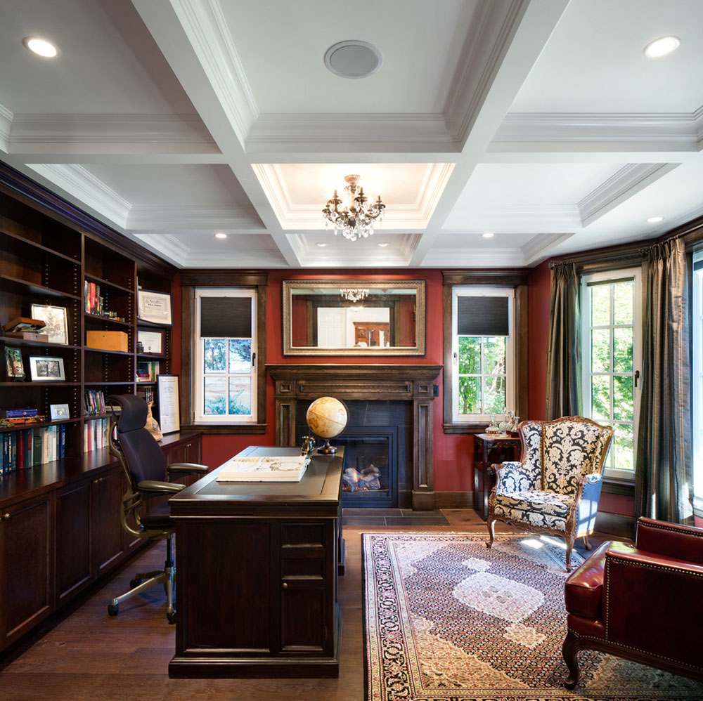 ideas4 improve your work day with these home office flooring ideas