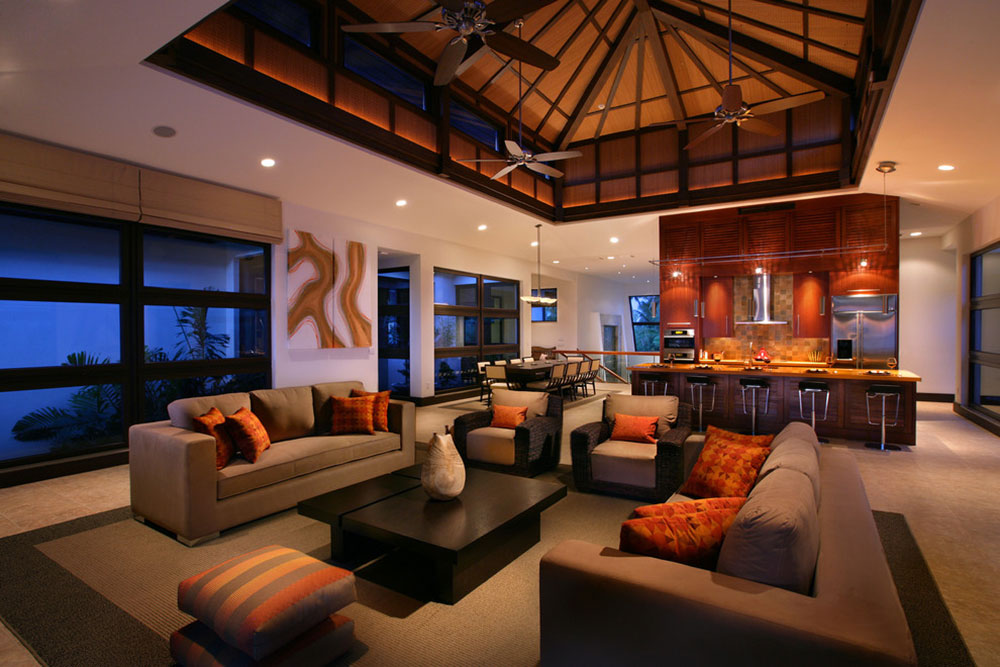 Sitting Room In Contemporary Design