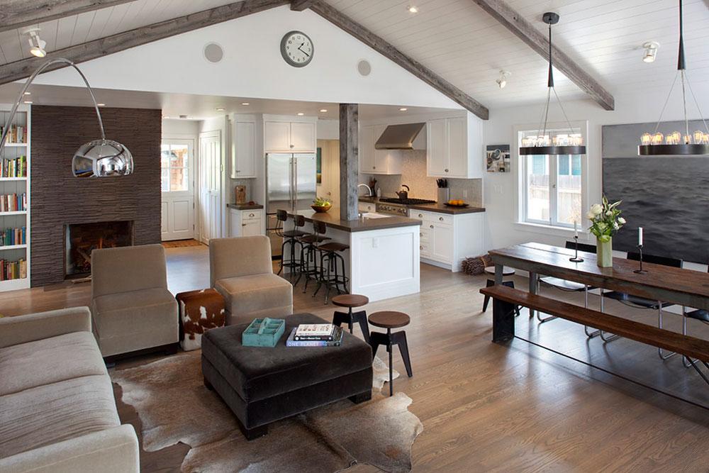 Open Floor Plan Ideas For Contemporary House
