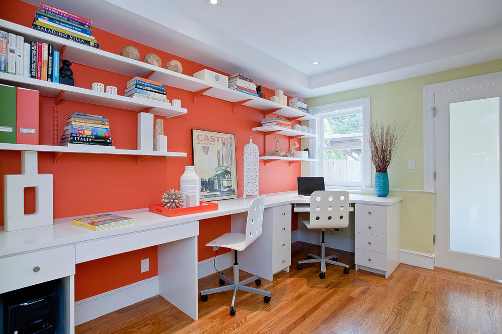 start work home with these good colors for - Working In Home Office