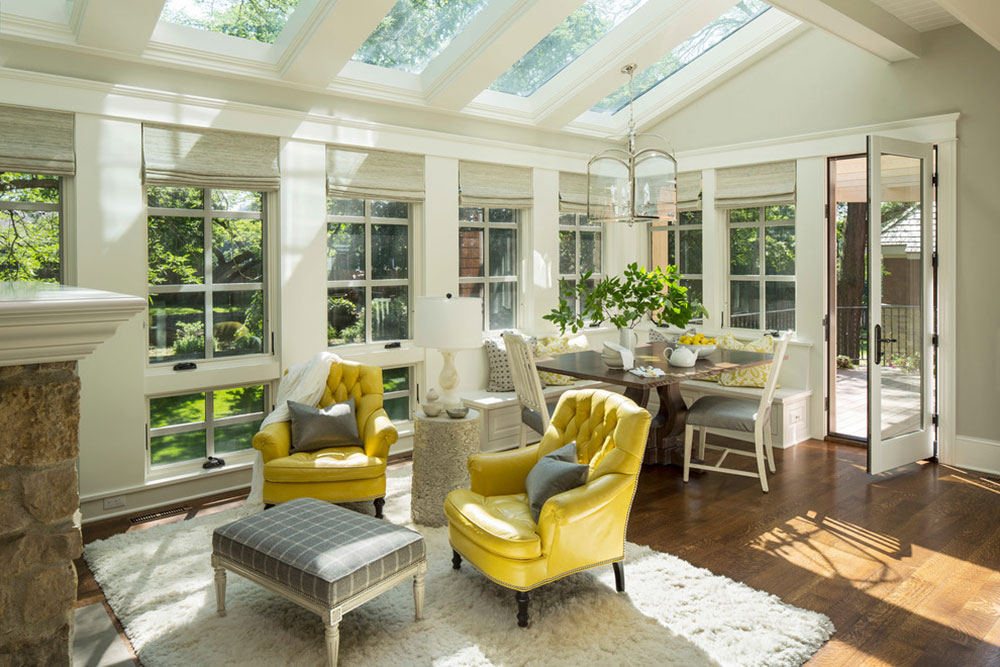 sunroom design ideas even for rainy days5 - Sunroom Design Ideas