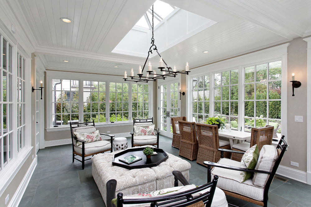 sunroom design ideas even for rainy days6 - Sunroom Design Ideas