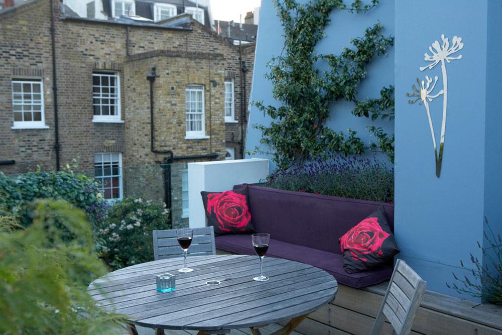 London Balcony Garden Best Balcony Design Ideas Latest