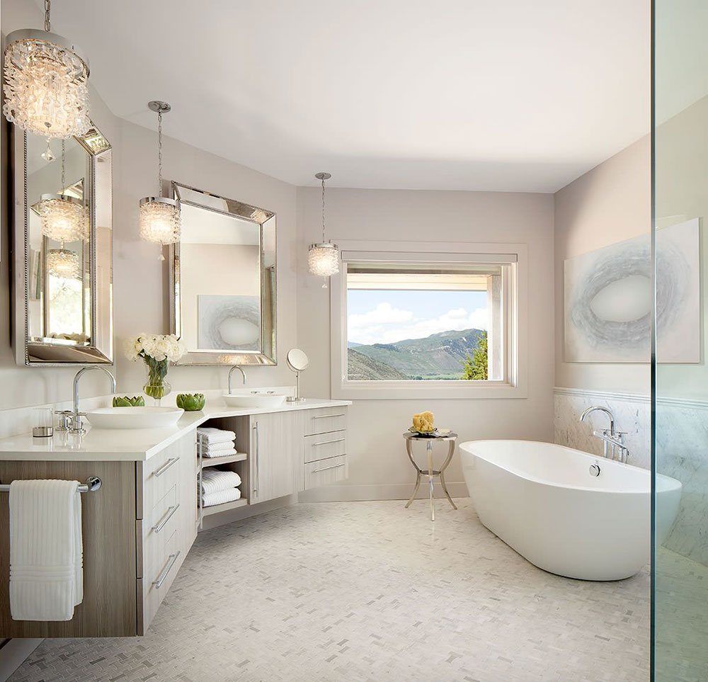 tips for a spa bathroom makeover