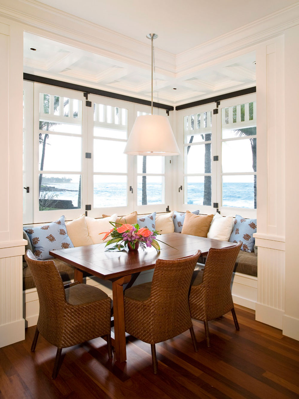 Breakfast Nook Design Ideas For Awesome Mornings11