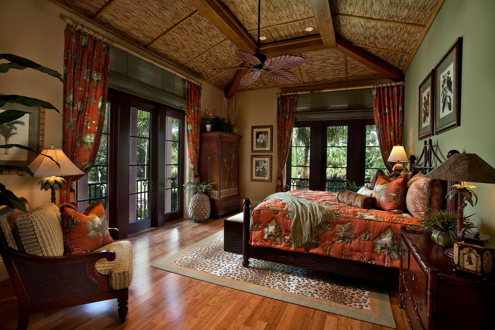 Never Miss Summer With These Tropical Bedroom Design Ideas Impressive Bamboo Bedroom Decor Style Remodelling