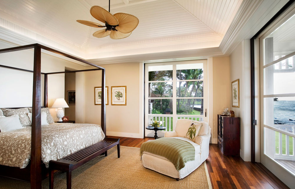 never miss summer with these tropical bedroom design