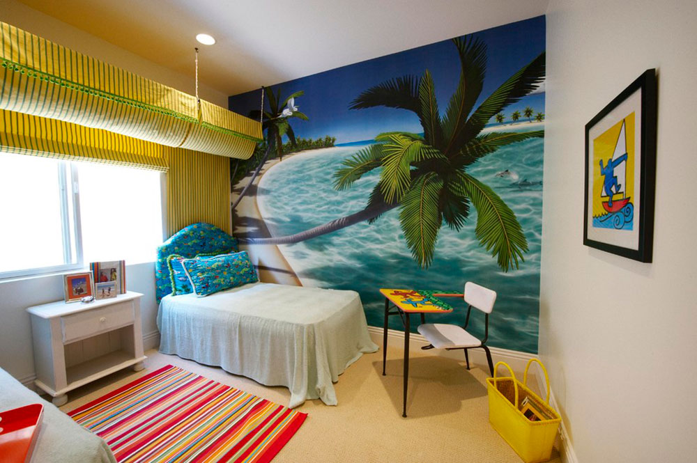 Incroyable Never Miss Summer With These Tropical Bedroom Design