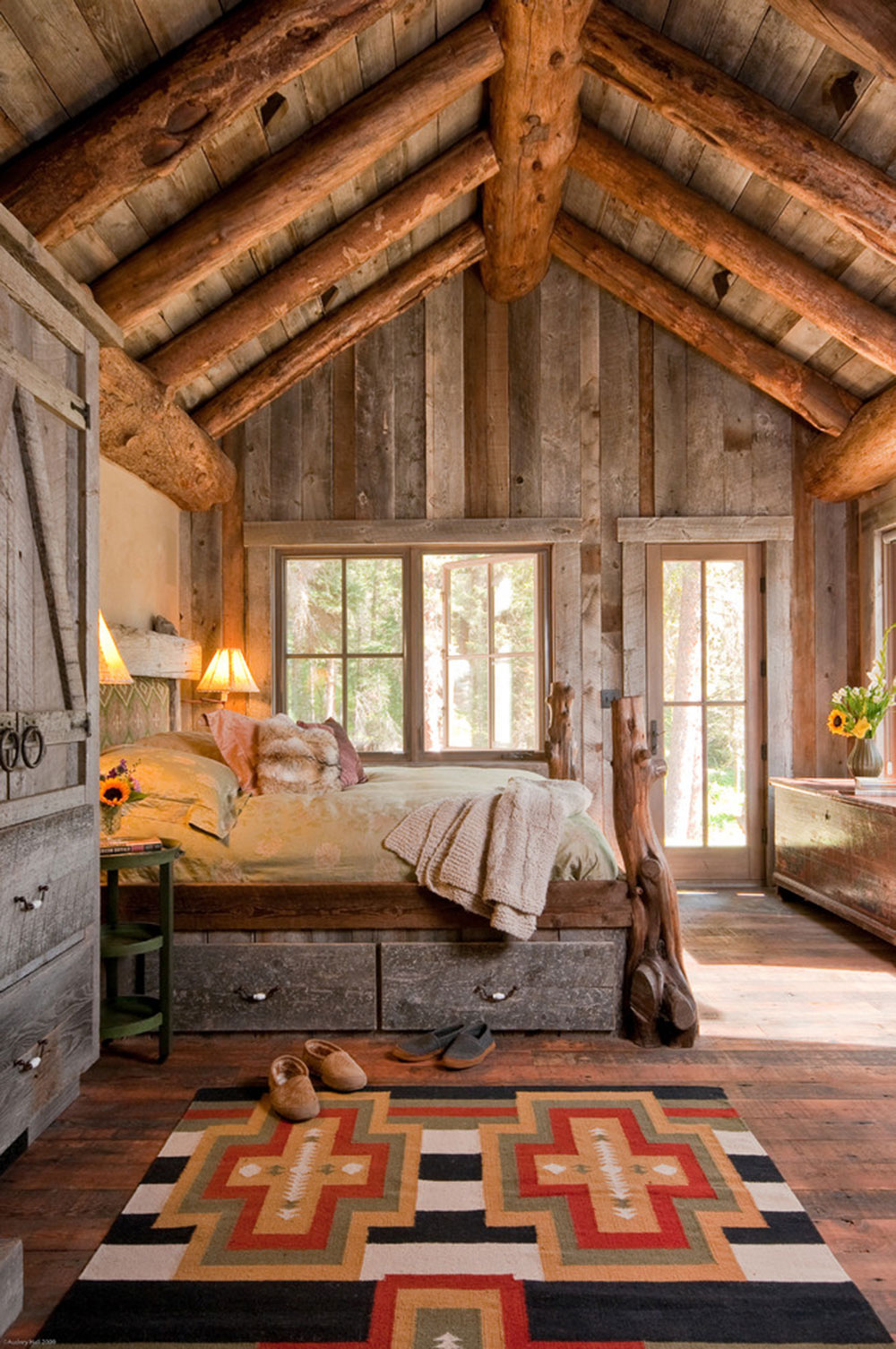 rustic bedroom design ideas which radiate comfort