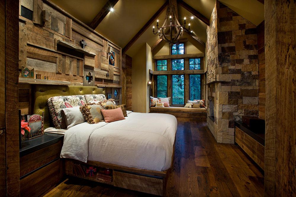 Rustic bedroom design ideas which radiate comfort - Rustic bedroom ...