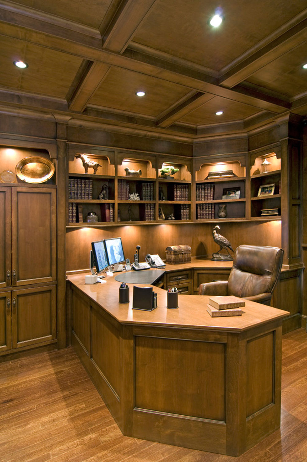 Tips For Setting Up Your Home Office - Basement home office design ideas