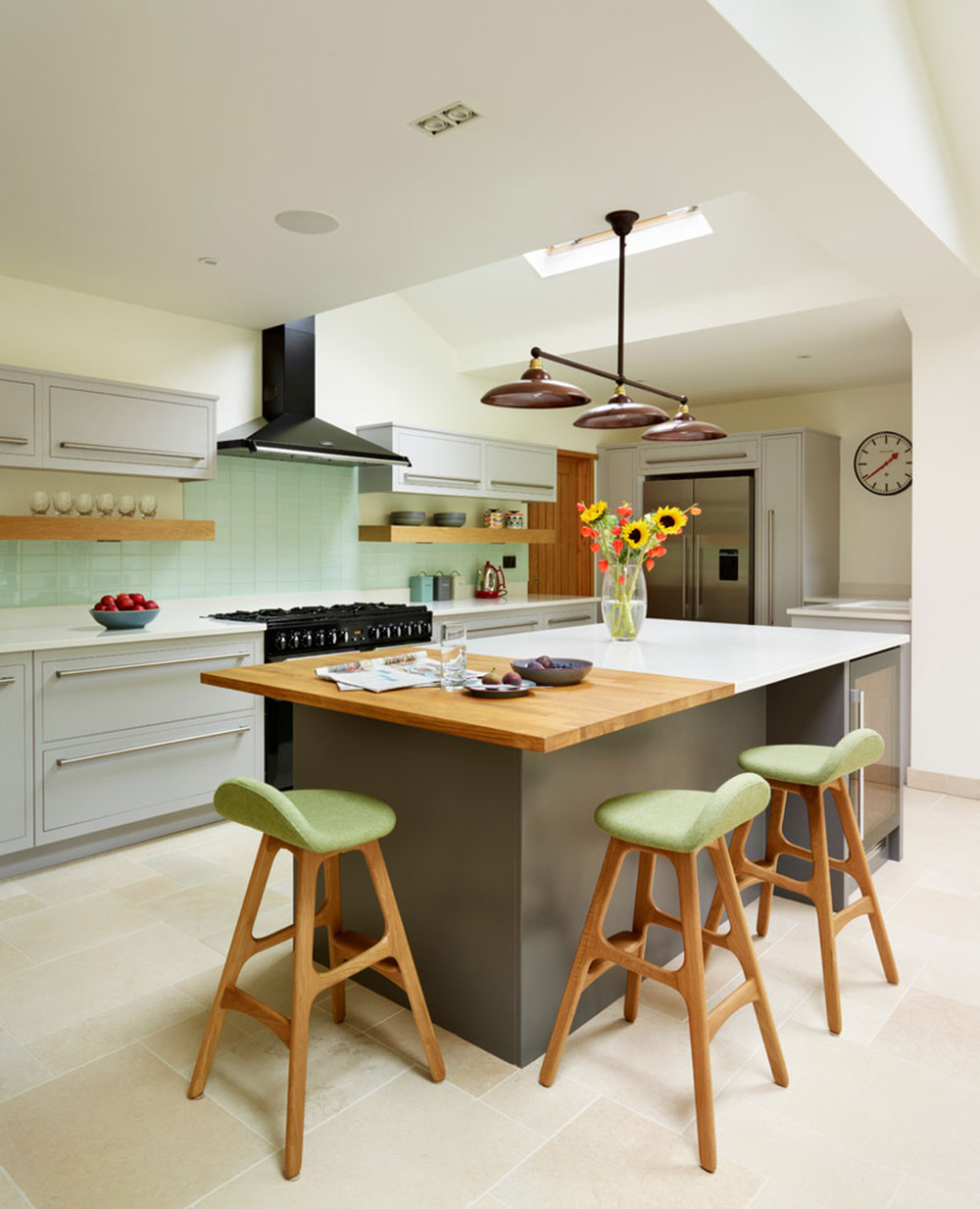 modern kitchen island designs with seating