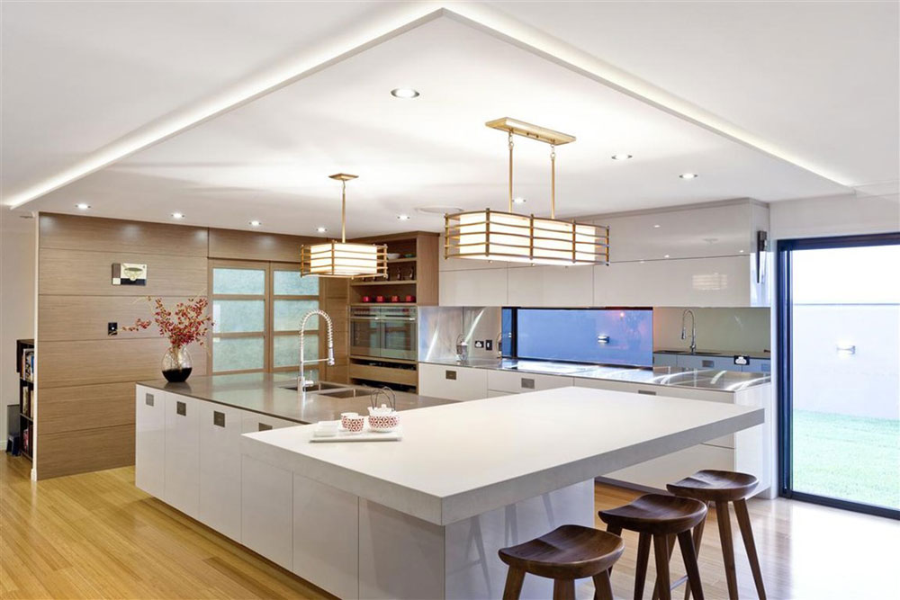 Modern Kitchen Island Designs With Seating 9