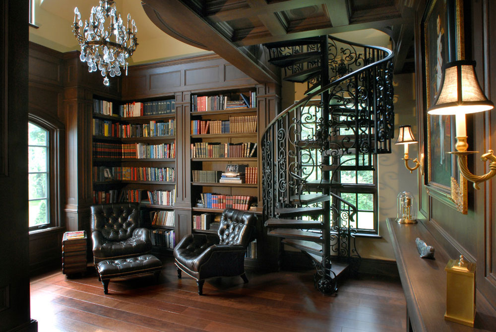Creating-A-Home-Library-Design-Will-Ensure-Relaxing-