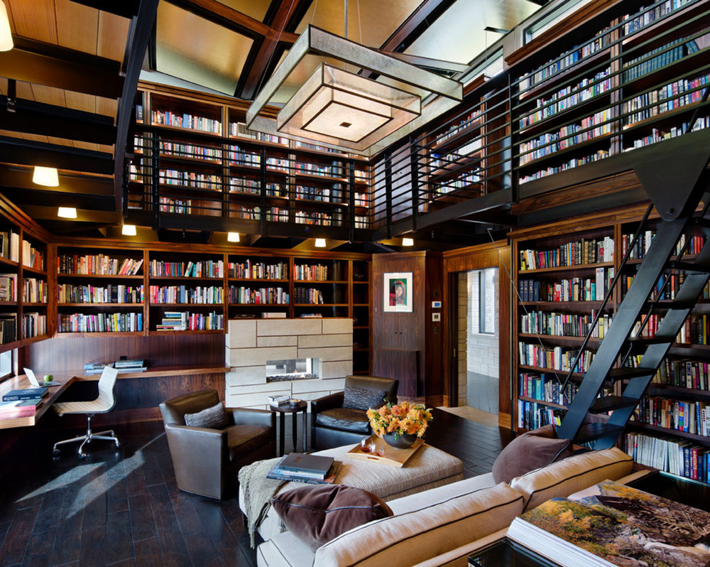 Creating A Home Library Design Will Ensure Relaxing