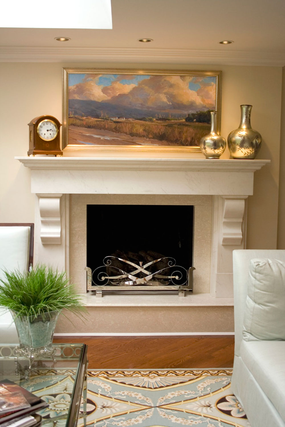 High Quality Fireplace Mantel Decorating Ideas For A Cozy Home2 Fireplace