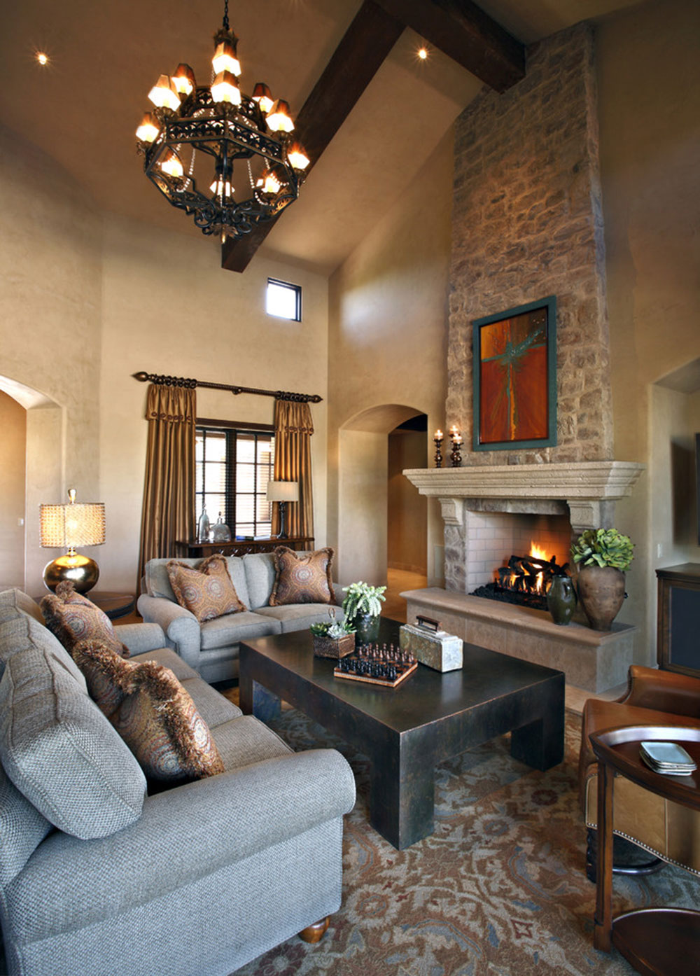 Fireplace Mantel Decorating Ideas For A Cozy Home - Fireplace-mantel-decor-ideas-home