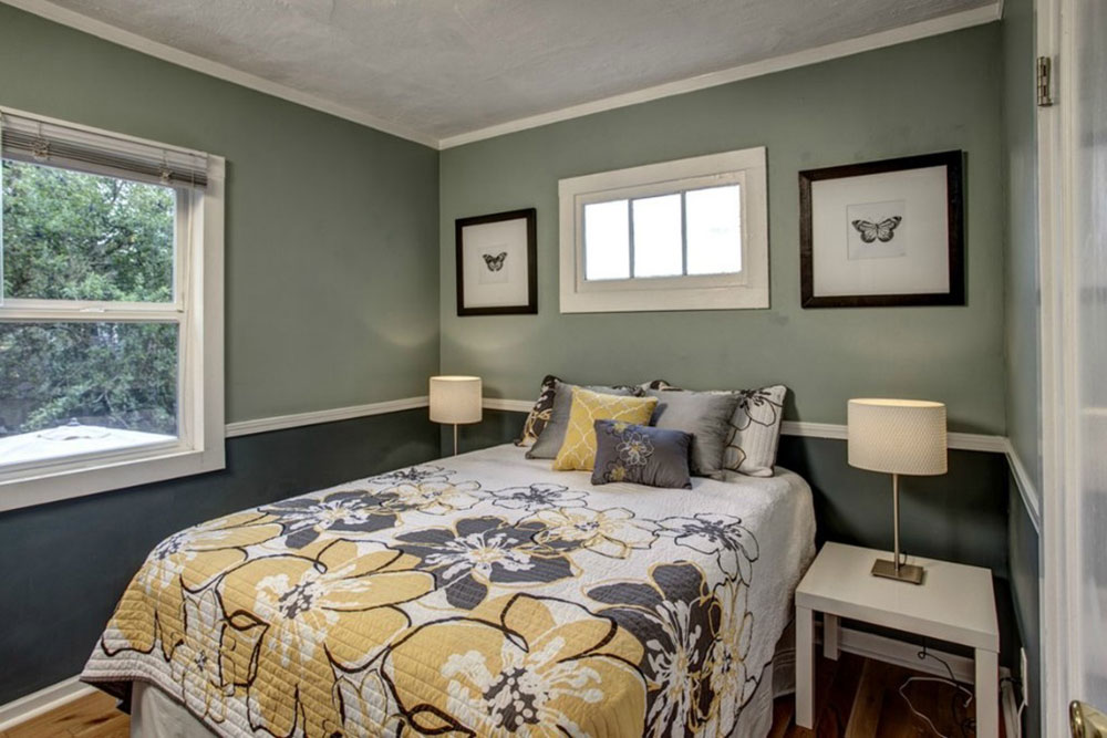 Genial Tips For Decorating A Room With Two Tone