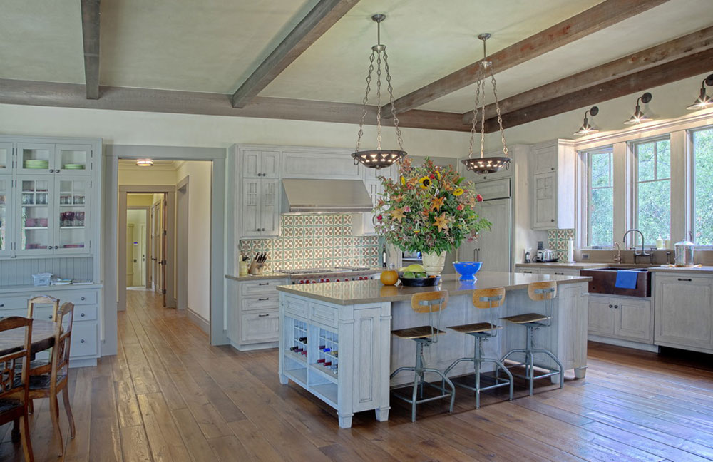Cottage Style Kitchen Designs Easy To Obtain10