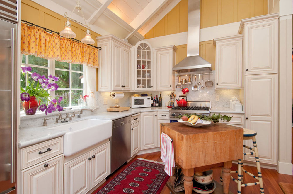 Cottage Style Kitchen Designs Easy To Obtain12