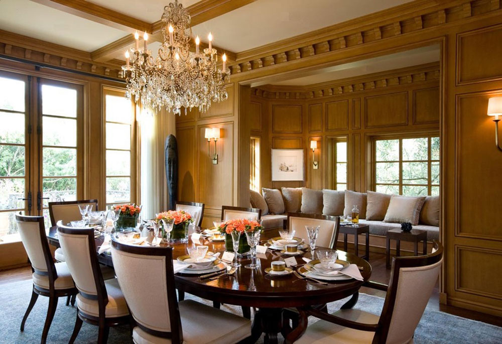 Stunning Formal Oval Dining Room Sets Contemporary - 3D house ...