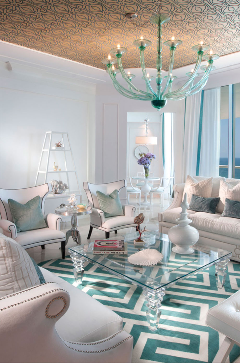 Turquoise Living Room Turquoise Interior Design Is Always A Good Idea