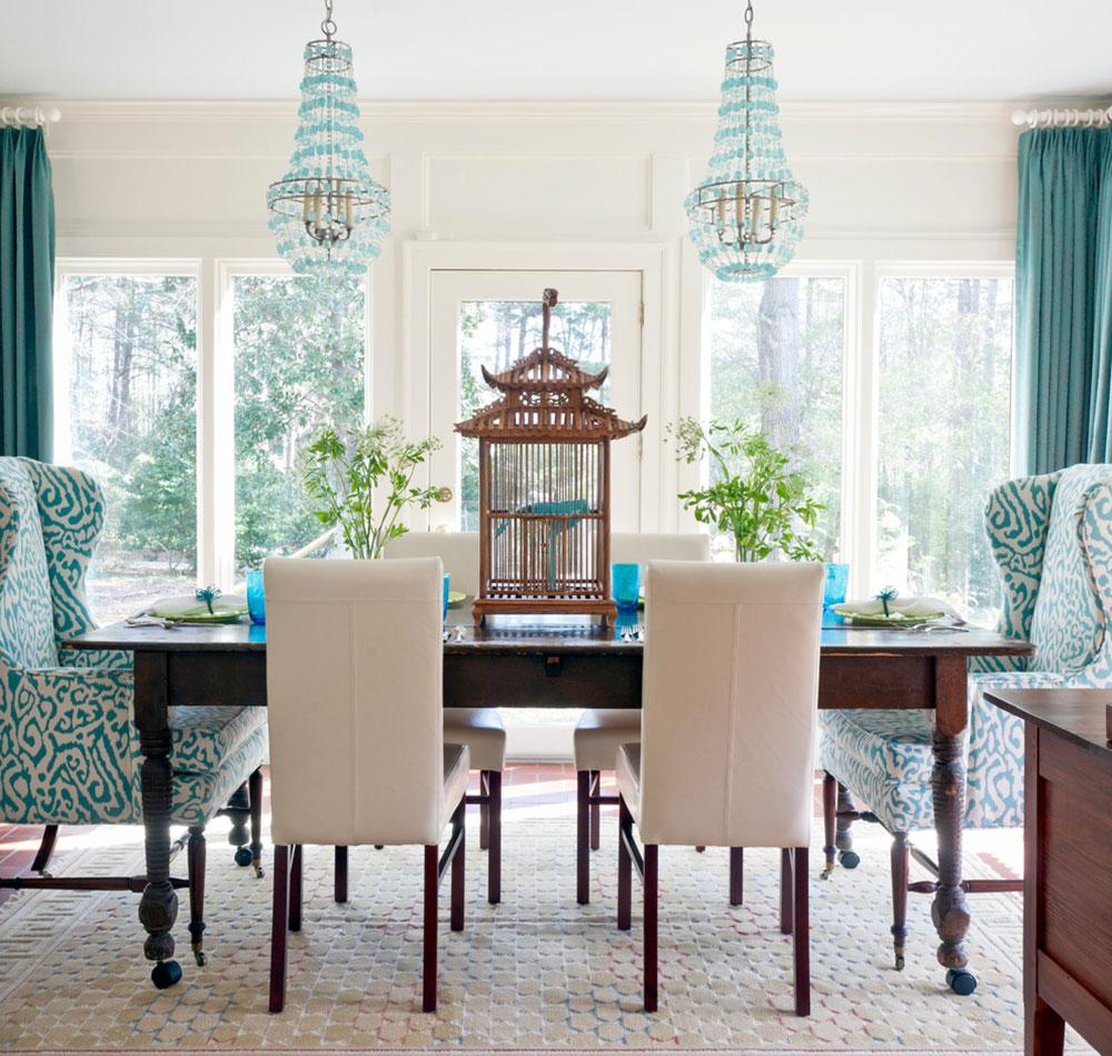 Turquoise Interior Design Is Always A Good Idea7 Turquoise