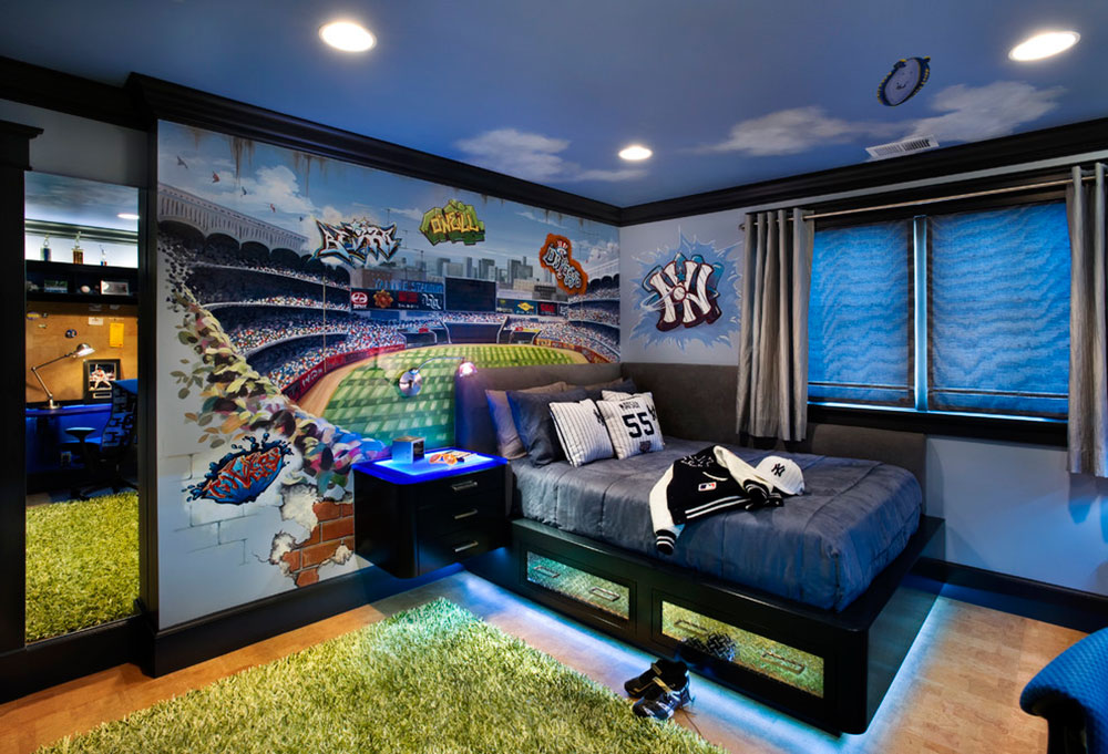 Cool And Cozy Boys Room Paint Ideas