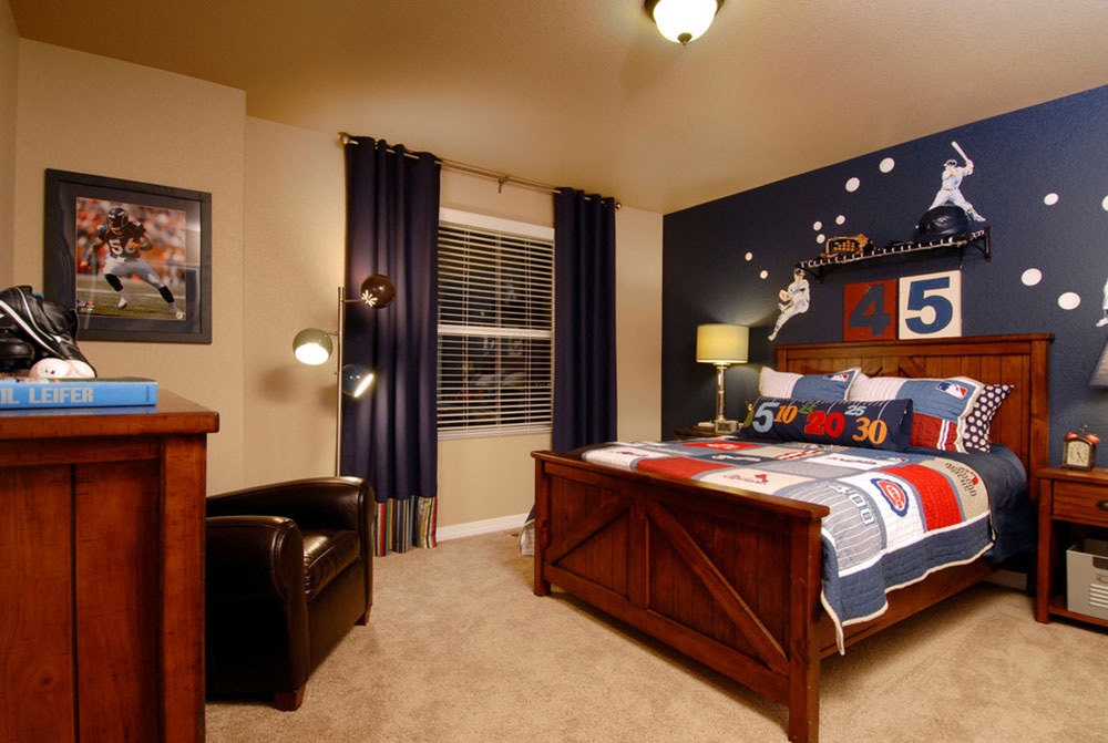 Bon Cool And Cozy Boys Room Paint Ideas19 Cool And Cozy