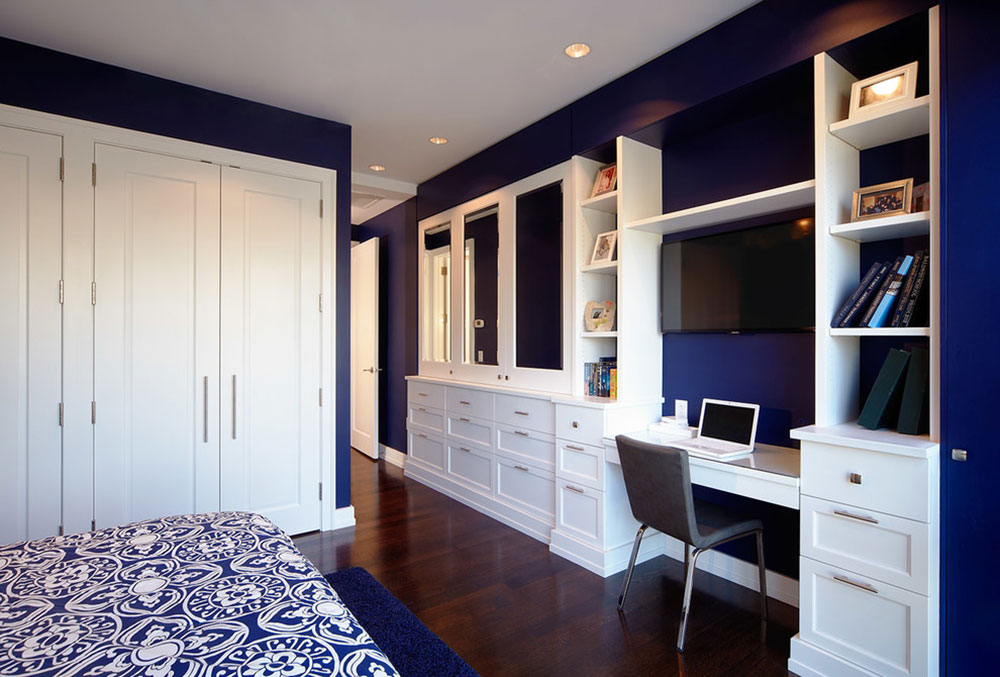 Cool Navy Blue Room Paint Pictures Best Idea Home Design - Cool and cozy boys room paint ideas