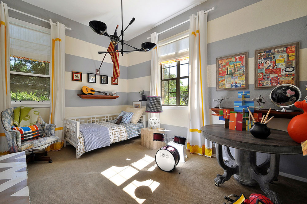 Cool And Cozy Boys Room Paint Ideas26 Cool And Cozy