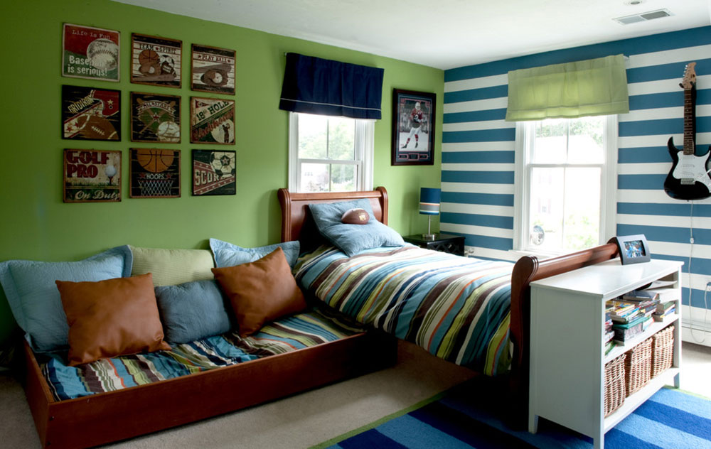 Cool Boys Rooms cool and cozy boys room paint ideas