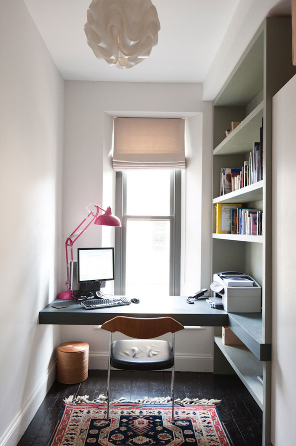 DIY Wall Mounted Desk Design Ideas