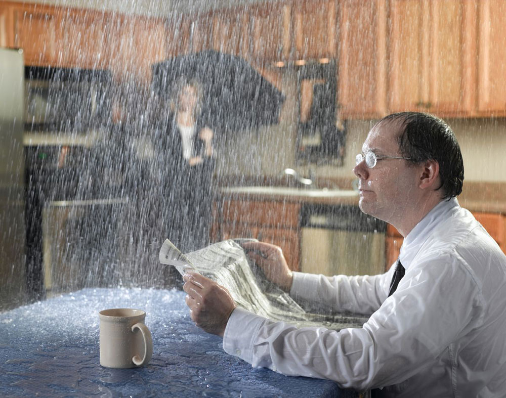 Solutions For Water Leaking Through Ceiling