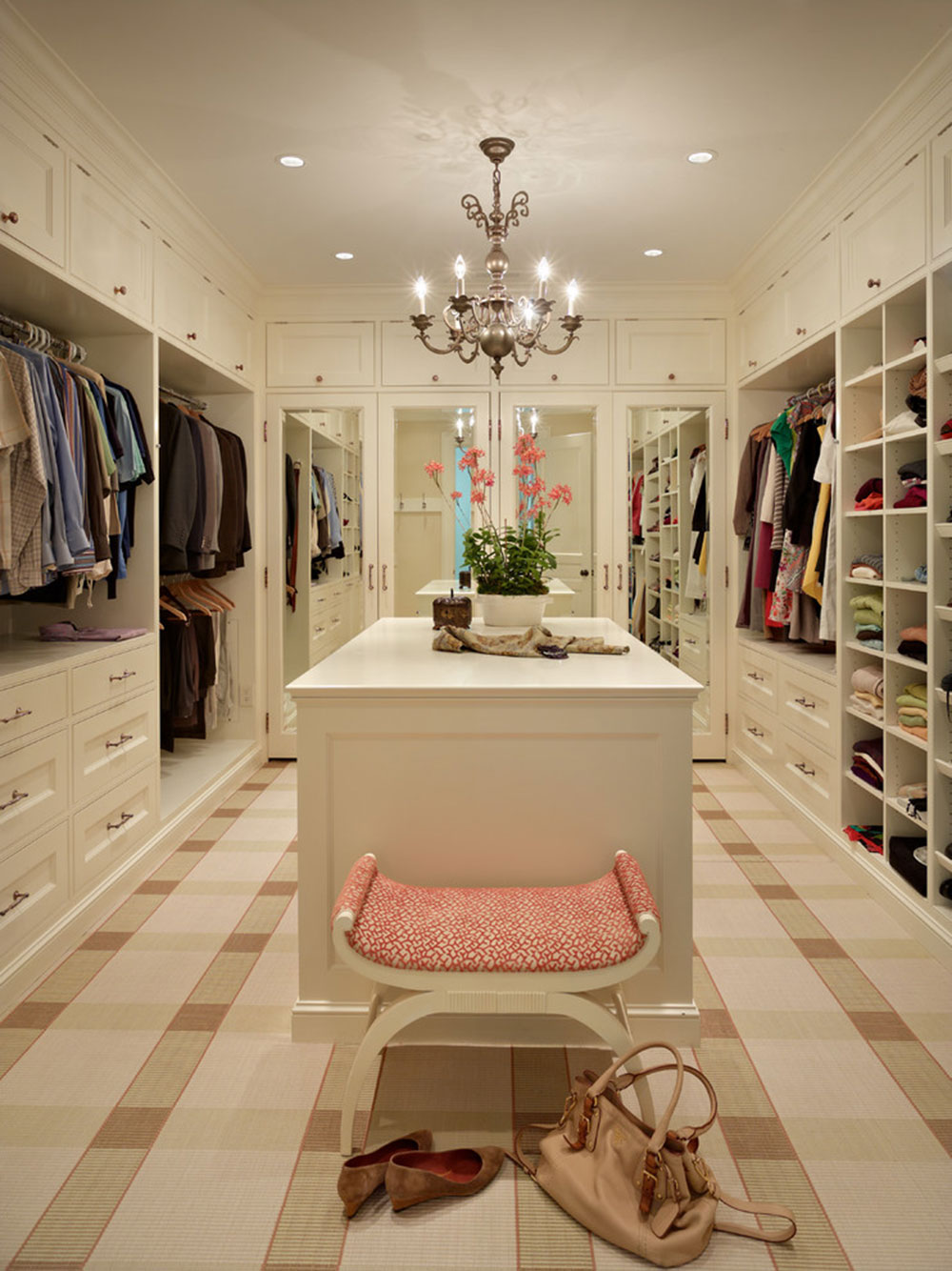closet large and luxury walk walking delbescafe bench designs clothing design in with pictures ideas