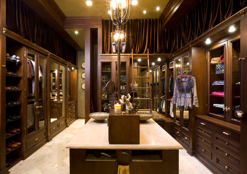 Useful And Amazing Walk In Closets