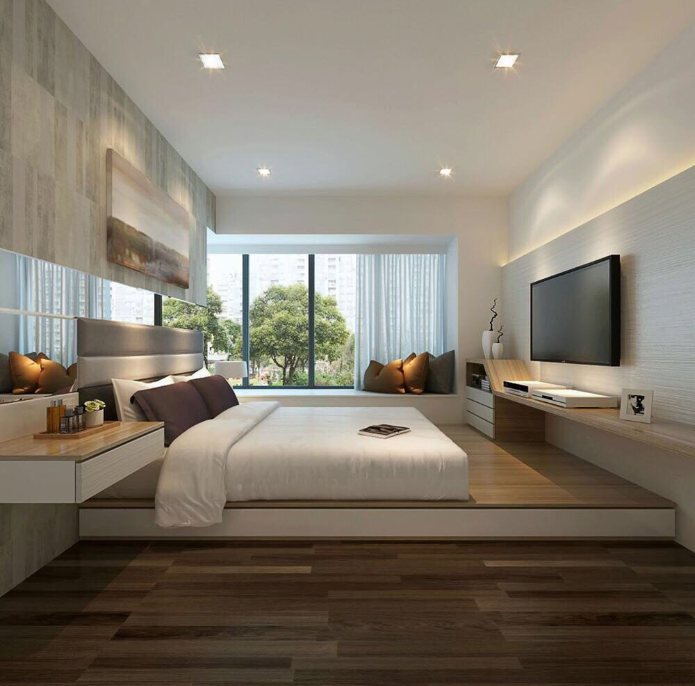 Superieur 2 Room Condo Black Silver Interior Design Modern And Luxurious