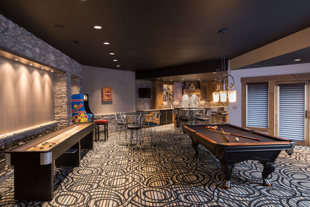 Games Room Lighting Lighting Considerations. Equipped-Game-Room-For ...
