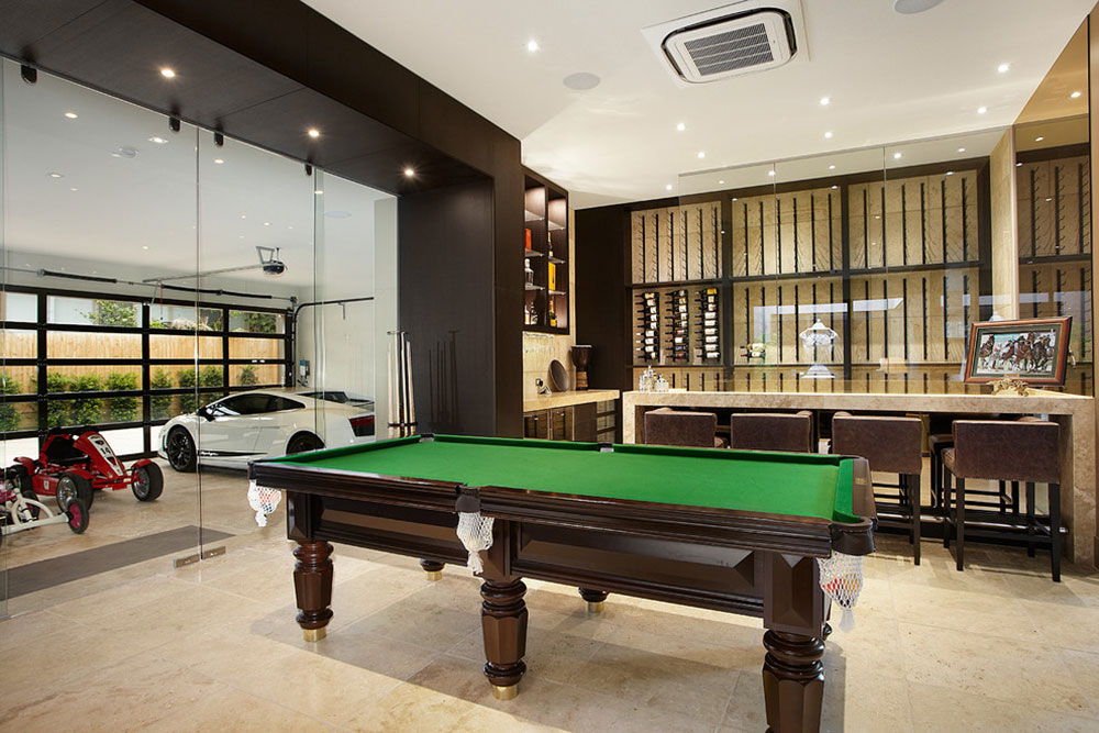 Equipped Game Room For Quality Time14 Fully Equipped Game Room Ideas