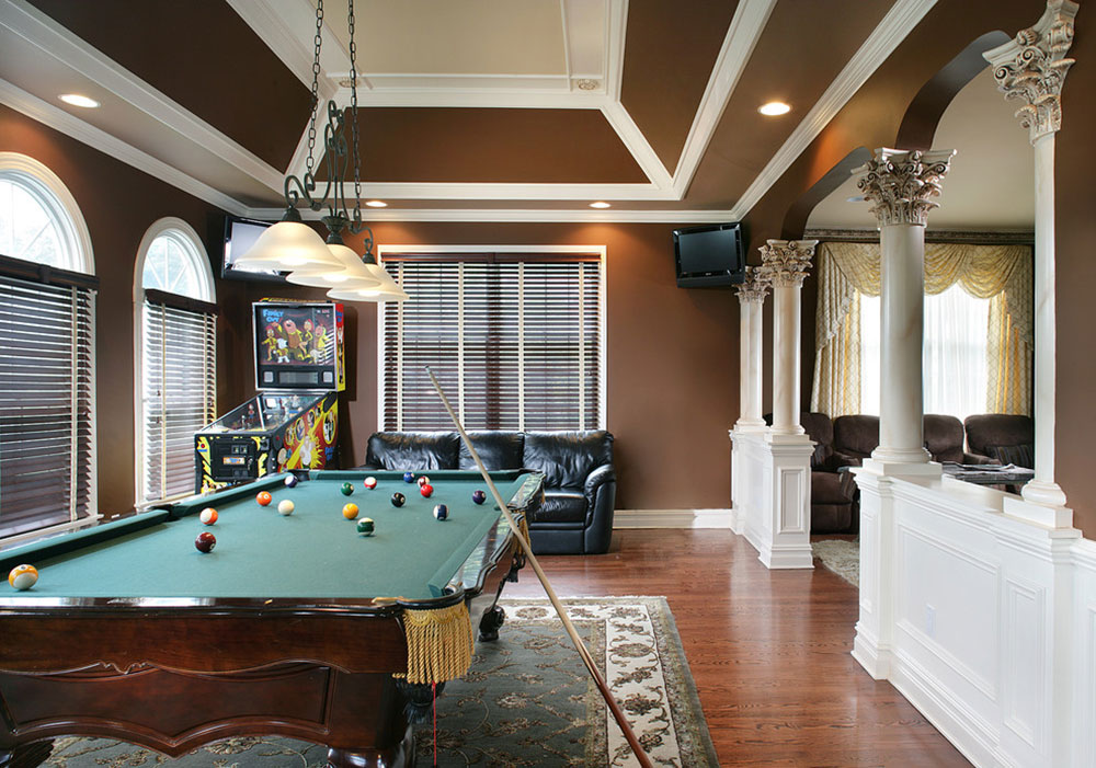 Equipped Game Room For Quality Time3 Fully Equipped Game Room Ideas Part 89